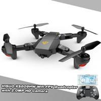 Visuo Xs809hw Rc Drone Wifi Fpv 2 0mp 720p 120deg