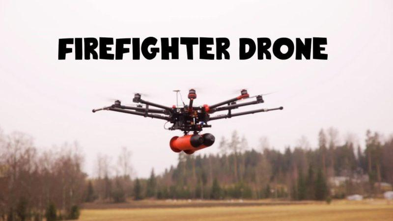 Firefighting Drones And New Infographic Highlights Drone