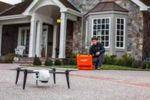 Kespry Drone for Roof Inspection
