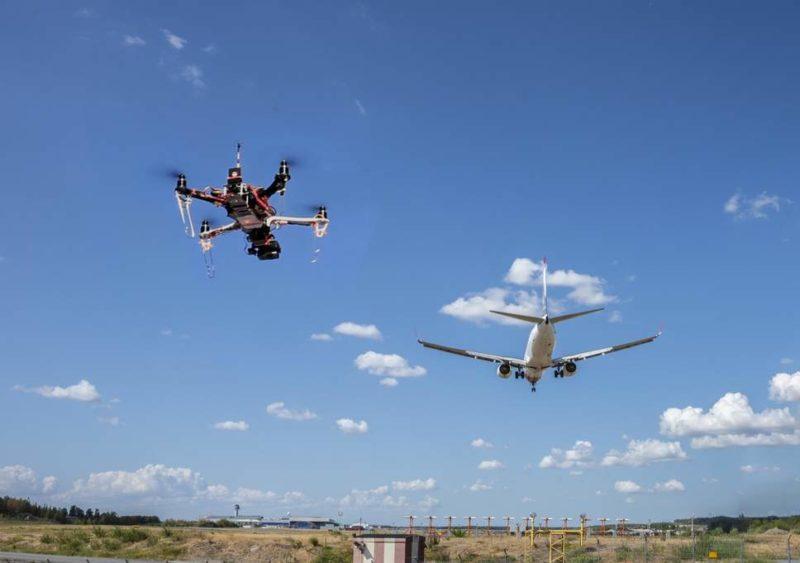 drone near airport dji