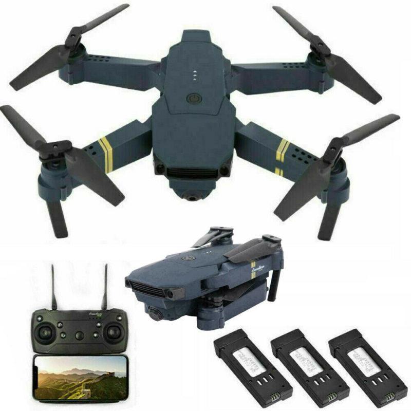 Drone X Pro Foldable Quadcopter WIFI FPV 720P Huge Angle High