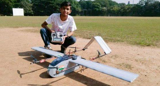 21 12 months Old Students VTOL Drone RotorDrone