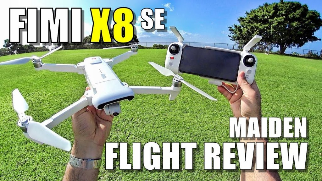 Xiaomi FIMI X8 SE Maiden Flight Check Evaluate Lots