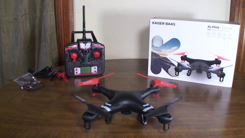 Kaiser Baas Alpha Drone Critique and Flight