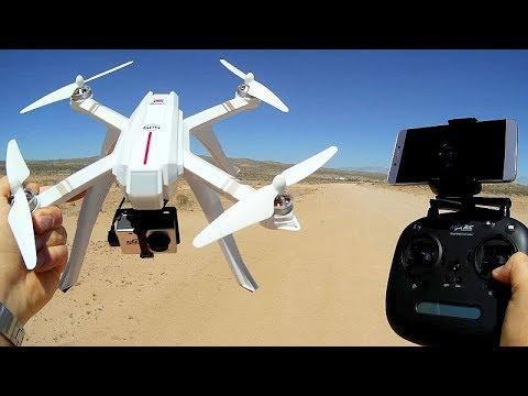MJX Bugs 3 Pro Brushless GPS FPV Camera Drone Flight