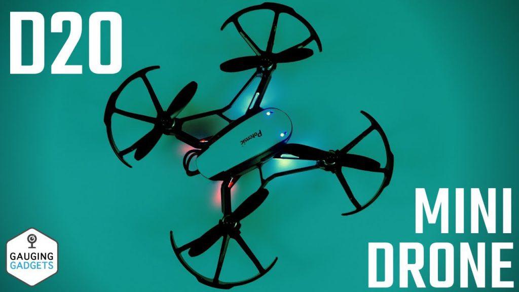 Potensic D20 Mini Drone Review Nano Quadcopter Altitude Keep