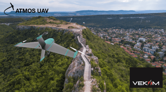 Atmos UAV further more expands its distributor network with Vekom
