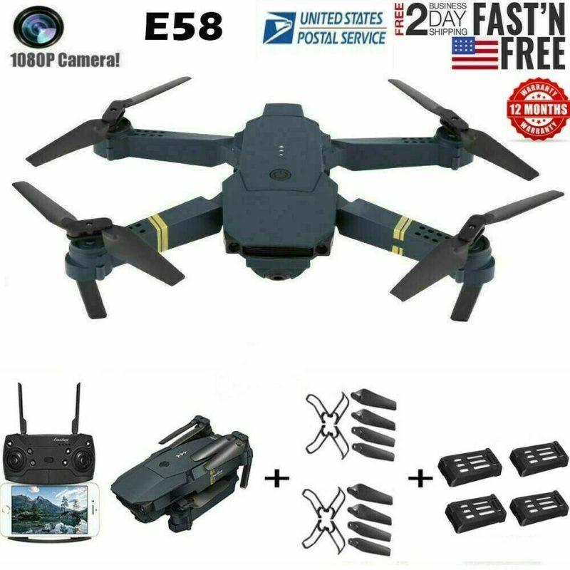 L800 2MP W 720P Digicam WIFI FPV Foldable Selfie Drone